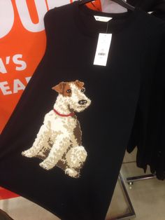Fox terrier sweater. Sadly none in my size........