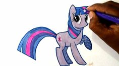 Hey guys watch how to draw my little pony Twilight sparkle.. Subscribe for more videos :)