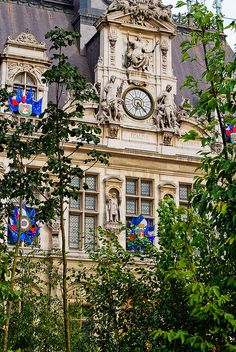 Le jardin éphémère de l'Hôtel de Ville