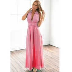 20 color summer sexy women Boho maxi dress red bandage long dress sexy Multiway Bridesmaids Convertible Dress robe longue femme Just look, that`s outstanding! Get it here