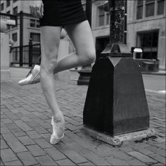 In ballet, hyper extension is an interesting point of interest. While it's technically discouraged due to its negative effect on the body, it is sort of under-the-table praised, as it creates beautiful, super human lines like this. I love this photograph and The Ballerina Project's work as a whole