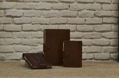 Cuadernos con papel artesano de Acuari para bellas artes PieliPapel www.puntera.com