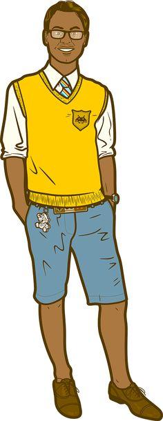 GEEK CHIC.  Aarav is 19 years old.  He loves skinny ties, Steve Urkel, playing NES, cool watches and thick black glasses.