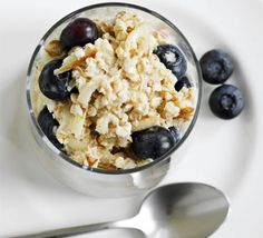 Keep your energy up all morning with this super healthy breakfast that's high in fibre and low in fat, from BBC Good Food.