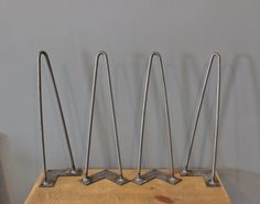 Hairpin Leg  Metal Table Leg  Multiple Sizes  Free by DendroCo, $17.00 -- remember this when building dining room table