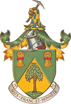 The arms of the Hon. Paul Comtois | andrewcusack.com