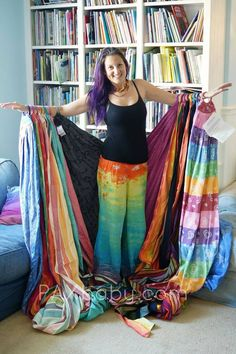 I want these so bad WAHM, Happy Dance Pants, tie-dye, Paxbaby Dance Pants, Yoga Pants, Happy Dance, Baby Wearing, My Outfit, Tie Dye Skirt, Fashion Outfits, How To Wear, Clothes