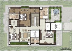 FLOOR PLANS VILLA LIFESTYLE