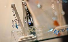 Swarovski crystal wedding jewelry. Crystal Wedding, Wedding Jewelry, Swarovski Crystals, Wedding Ideas, Drop Earrings, Drop Earring, Wedding Ceremony Ideas, Wedding Decorations