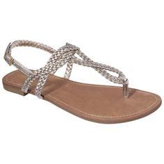 Merona Esma Braided Flat Sandal