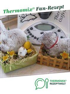 Osterlamm und Osterhase mit Eierlikör von Thermimaus. Ein Thermomix ® Rezept aus der Kategorie Backen süß auf www.rezeptwelt.de, der Thermomix ® Community.