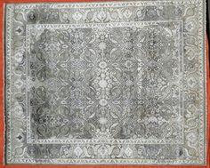 Hand made area rug. Wool with Bamboo silk pile. www.unlimitedrugsworld.com