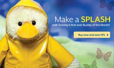 New Scentsy Buddy...Wellington! How cute is he? He is 10% off in March! erinfraser.scents...