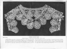 Lace Collar, Irish Crochet, Art Studios, The Borrowers, Tapestry, Princess, Books, Free, Archive