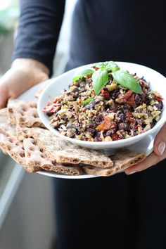 BLACK & GREEN OLIVE TAPENADE » so good you won't want to share it with anyone {plant-based, vegan, raw, gluten free}
