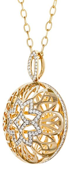 Pendant - Gold and Diamonds