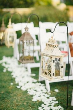 27 Creative Lanterns Wedding Aisle Decor Ideas
