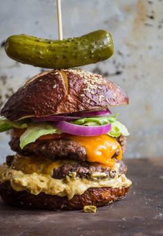 Old-School Beef Burgers with Extra-Special Sauce