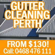 Our professional team consists of competent and trained workers who have a broad experience of gutters cleaning on Perth.