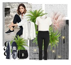"""Untitled #124"" by azrahadzic ❤ liked on Polyvore featuring T By Alexander Wang, Manon Baptiste, Vans, Chloé and Edition"