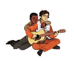 """""""I had a man, he was long and tall. He moved his body like a cannonball(can't get the idea of Poe singing folk songs for Finn out of my head)"""" - gingerhaze"""