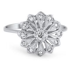 14K White Gold The Mayfair Ring from Brilliant Earth