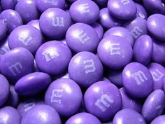 Purple M's