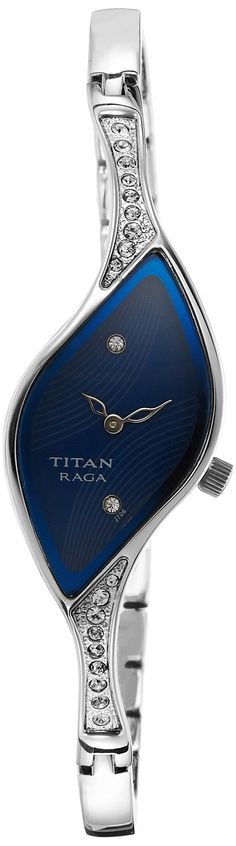 Titan Raga 9710SM01 Analogue Watch - For Women #Titan #analog #Blue #Dial #Women's #Watch #9710SM01  Price:INR 4,240.00 -------------------------------------- Sale: INR 3,825.00  --------------------------------------