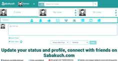Update your #status and #profile, connect with #friends on Sabakuch.com.