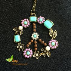 Gypsy Tribal Peace Necklace