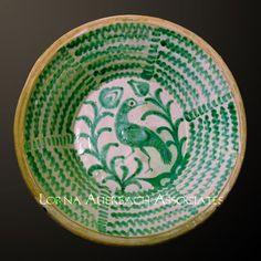 Spanish antique bowl