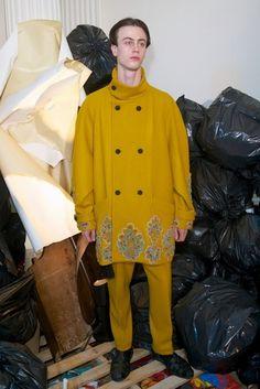 The Style Examiner: Meadham Kirchhoff Menswear Autumn/Winter 2013