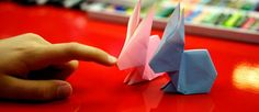 How To Fold An Origami Easter Bunny - Art for Kids Hub