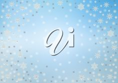 iCLIPART - Royalty Free Clipart Image of a Snowflake Background