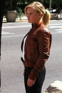 Kelli Giddish as Detective Amanda Rollins in Law and Order SVU, 2012.