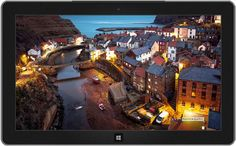 Nightime in Staithes, North Yorkshire, England, U.K.