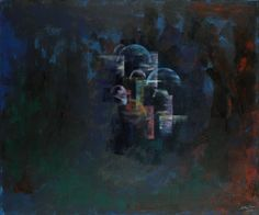 Night Domes - Acrylic On Canvas - x Islamic Art, Canvas, Night, Painting, Tela, Paintings, Canvases, Draw, Drawings