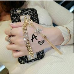 Details about Original New Bling Fashion Bracelet Tassels Handmade Phone Case Cover For iPhone in 2020 Iphone 7 Plus, Iphone 8, Iphone Cases, S Letter Images, Alphabet Images, Alphabet Design, Jewelry Trends 2018, Love Heart Images, Stylish Alphabets