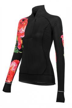 Chill Factor Flamboyant women's cycling jersey.