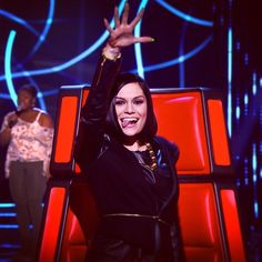 Jessie seems to be enjoying this audition! #thevoiceuk