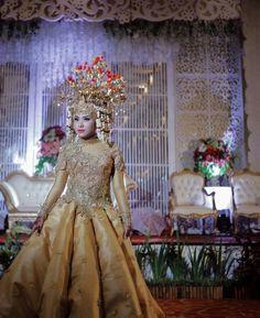 The bride of Palembang indonesia