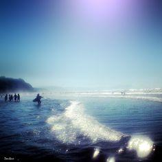 Sopelana Beach, Basque Country, Spain  Playa de Sopelana, tantos días de verano