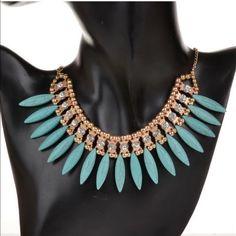 Bib Statement Necklace Never worn Jewelry Necklaces