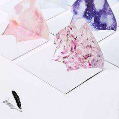 10 cái/bộ bầu trời đầy sao giấy viết Giấy Đầy Màu Sắc Phong Bì Kawaii Văn Phòng & Trường Học Nguồn Cung Cấp Phong Bì cho Đám Cưới Thư Lời Mời