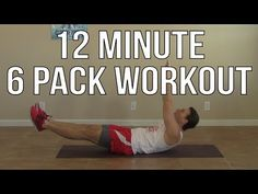 ▶ 12 Min 6 Pack Workout at Home for Men & for Women - HASfit Six Pack Abs Exercises Ab Workouts - YouTube