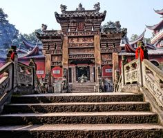Stone arch in the temple, Chongqing, China       21 Magnificent Photos That Will Place China On Your Bucket List