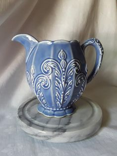 Check out this item in my Etsy shop https://www.etsy.com/listing/608009900/southern-potteries-vintage-pitchergrace