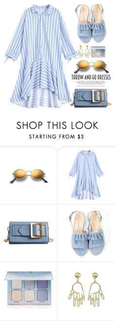 """""""Easy Outfitting: Throw-and-Go Dresses"""" by fshionme ❤ liked on Polyvore featuring Bionda Castana, Anastasia Beverly Hills and easydresses"""