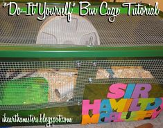 1000 images about proyectos que debo intentar on for Hamster bin cage tutorial