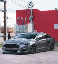 Ford Tarus, 2016 Ford Fusion Titanium, Ford Fusion Custom, Fusion Sport, 2013 Ford Fusion, Ford Mustang Gt500, High Performance Cars, Combustion Chamber, Car Mods